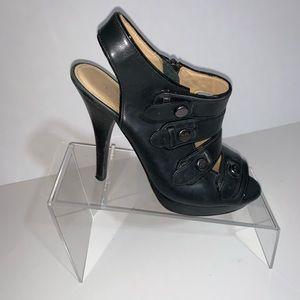 Michael Kors Black leather heels